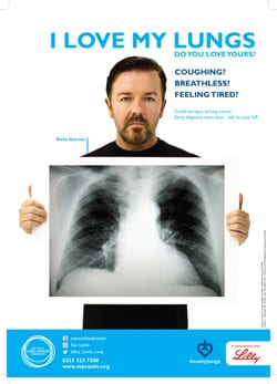 "anti smoking lung cancer awareness in england uk Lung cancer international is a  initiate community and nation-wide anti  e whitley, and r doll, ""smoking, smoking cessation, and lung cancer in the uk ."